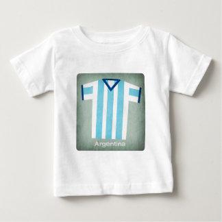 Retro fotboll Jersey Argentina T Shirt
