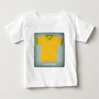 Retro fotboll Jersey Australien Tee Shirt