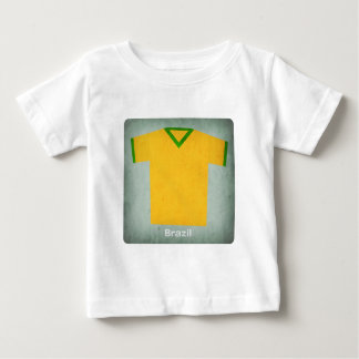 Retro fotboll Jersey Brasilien Tshirts
