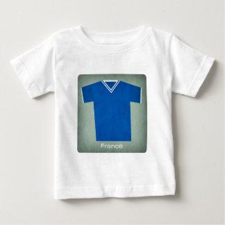 Retro fotbollJersey frankriken, Tee Shirt