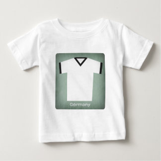 Retro fotbollJersey Tyskland T Shirts