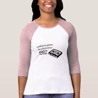 Retro Gamert-skjorta för damer Tee