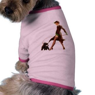 Retro GRANATDÅLIGAFLICKOR Klämma fastUps (för Hund Kläder