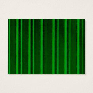 Retro grön rand visitkort