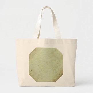 Retro grönt Grungemönster Tote Bag