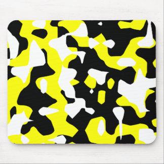 Retro gul kamouflage för Corey tiger80-tal (Camo) Mus Matta