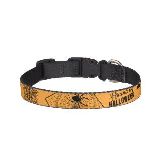 Retro Halloween Halsband Husdjur