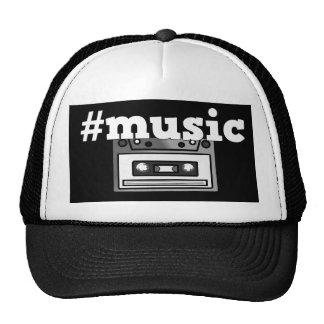Retro Hashtag musik tejpar den Keps
