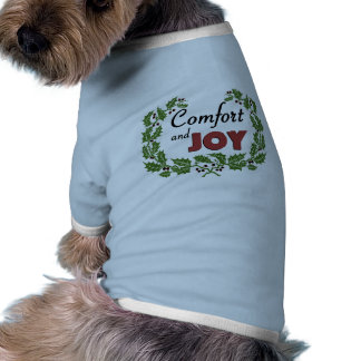 Retro helgdagT-tröja för hund Hund Kläder