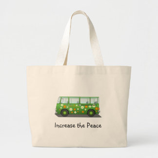 Retro Hippieskåpbil Tote Bags
