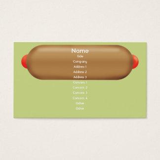 Retro Hotdog - affär Visitkort