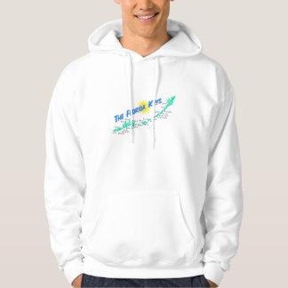 Retro illustration för Florida nyckelkarta Sweatshirt