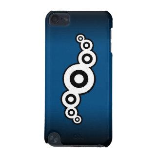 Retro ipod touch case för båge (blått)