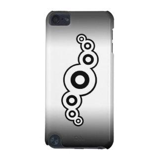 Retro ipod touch case för båge (vit)