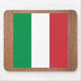 Retro italienflagga musmattor