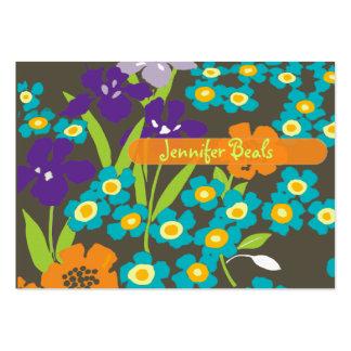 Retro japansk Iris Visitkort