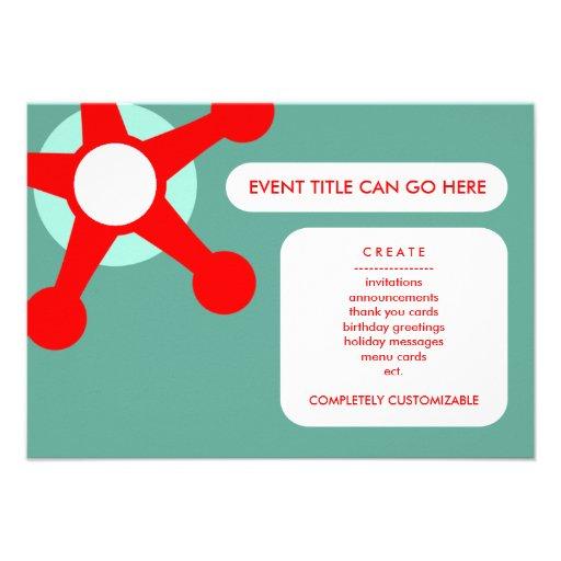 retro jax kort för inbjudningar