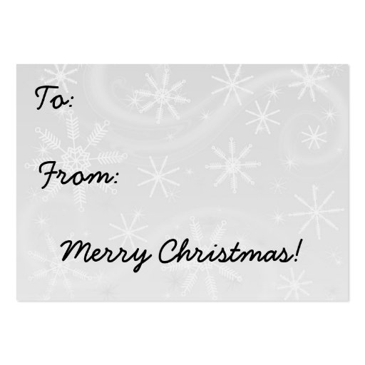 Retro julgåvamärkre visit kort