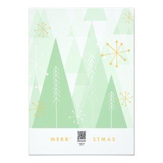 Retro julkort 12,7 x 17,8 cm inbjudningskort
