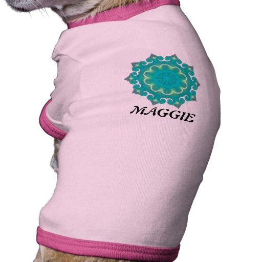 Retro Kaleidoscopeabstrakt Kläder För Husdjur