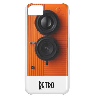 retro kam iPhone 5C fodral