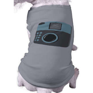 Retro kamera långärmad hundtöja