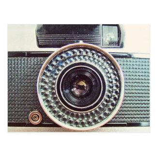 Retro kamera vykort