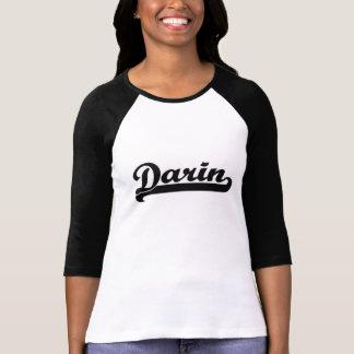 Retro känd design för Darin klassiker Tshirts