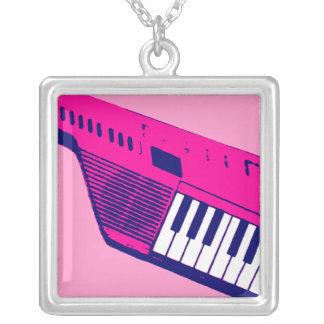 Retro Keytar för Corey tiger80-tal halsband