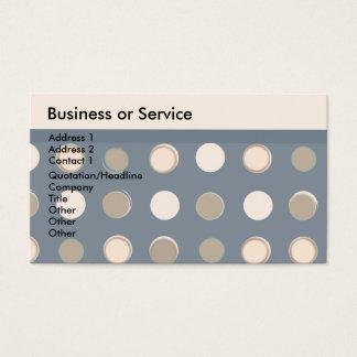 Retro klassikerbilligt för geometriskt manligt visitkort