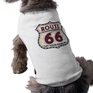 Retro kontrollör 66 långärmad hundtöja