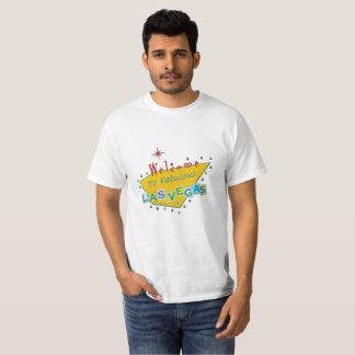 Retro Las Vegas undertecknar skjortan T-shirts