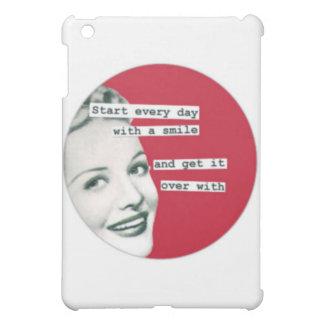 Retro lycklig hemmafru för mors dag iPad mini fodral