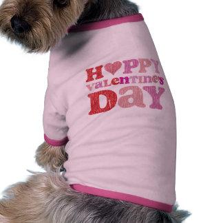 Retro lyckliga valentin dag hund tröja