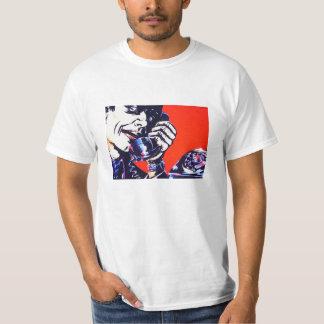 Retro mobil manT-tröja för kall ilsken 70-tal Tee
