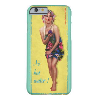 Retro mobilt fodral för pinupflickaiPhone 6 Barely There iPhone 6 Fodral