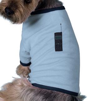 Retro mobiltelefon djur tshirt