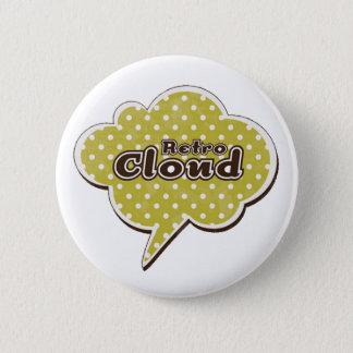 Retro moln standard knapp rund 5.7 cm