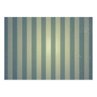 Retro mönster för randar för vintagegrå färgkräm visit kort
