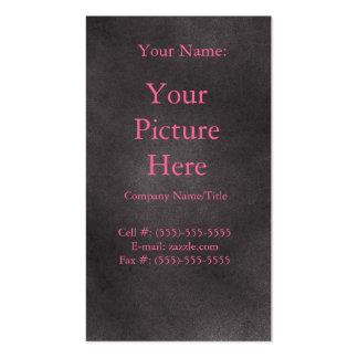 Retro mörk set av standard visitkort