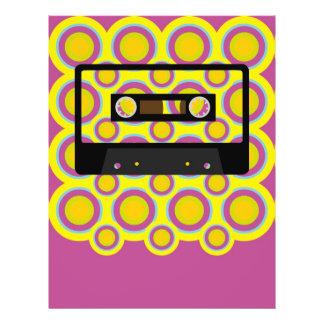 Retro musik reklamblad 21,5 x 30 cm