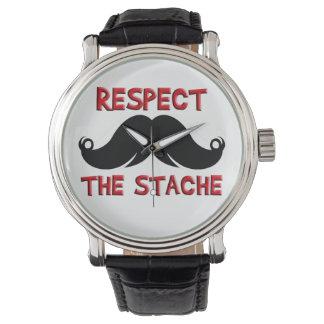 Retro mustaschMoustache Armbandsur