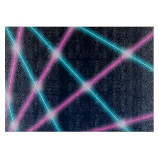 Retro neon för kall för 80-tallaser ljus bakgrund