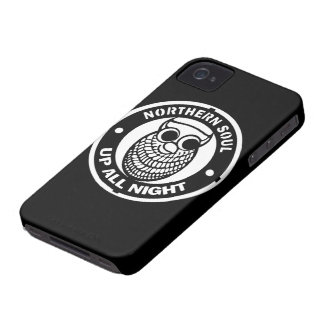 Retro nordlig Soul upp all natt iPhone 4 Case-Mate Case