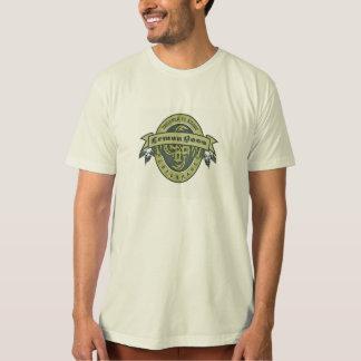 Retro organisk skjorta tee shirts