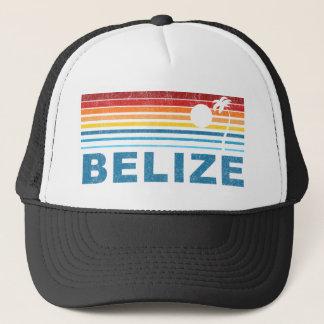 Retro palmträd Belize Truckerkeps