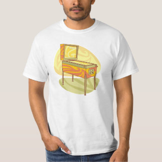 Retro pinball t shirt