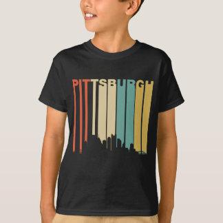 Retro Pittsburgh horisont Tshirts
