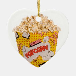 Retro Popcorn - färg Julgransprydnad Keramik