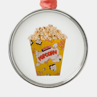 Retro Popcorn - färg Julgransprydnad Metall
